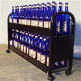 Caster POP Wine Display Rack