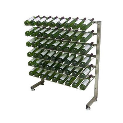 Metal Caster Wine Display Rack Wine Display Metal Shelves Caster Rack Manufacturer Supplier