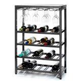 Metal Wine Rack Wine Shelf