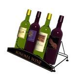 Wire Countertop Wine Display Rack