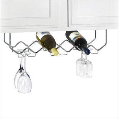 Under Cabinet Hanging Wine Rack Wine Rack Under Cabinet