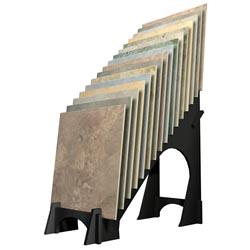 Metal Waterfall Tile Display Rack