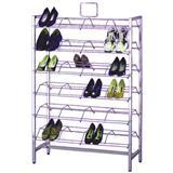 Free Standing Metal Shoe Rack
