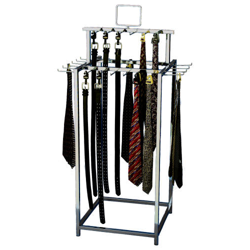 belt tie island display rack belt display rack island