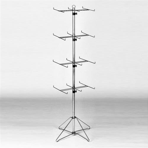 Wire Floor Sock Spinning Rack Spinning Sock Display Wire Store Rack