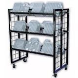Floor Standing Wire Cart Display