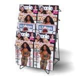 Metal Wire Countertop Magazine Holder