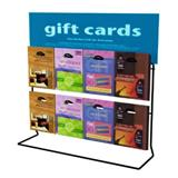 Counter Gift Card Display Rack