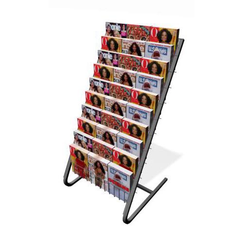 floor standing literature rack