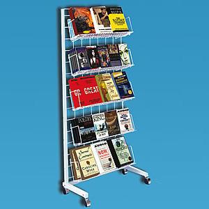 Wire Rolling Book Display Rack Book Display Rack Rolling