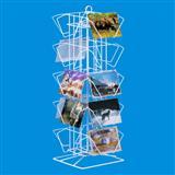 Wire Countertop Postcard Display Rack