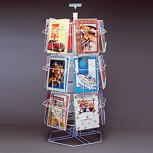 Postcard Display Stand Wire Countertop Postcard Display RackPostcard Display Rack 9