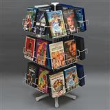 Desk Top Revolving DVD Display