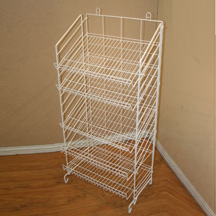 Commercial Wire Shelving Floor Display,Food Standing Display,Wire ...