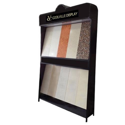 Marble Granite Stone Display RackMarble DisplayGranite RackMetal Tile Shelves
