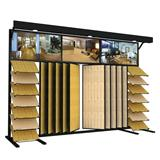 Floor Combination Display Hardwood Display