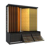 Flooring Combination Hardwood Tile Display