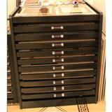 Drawer Ceramic Tile Display Rack