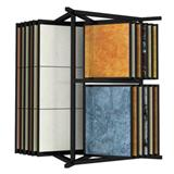 Contemporary Stone Tile Display Rack