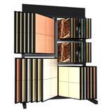 Freestanding Ceramic Sample Display Shelf