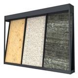 Showroom Grid Marble Slab Display