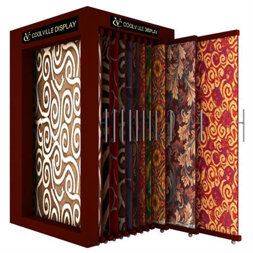 Pull-Push Carpet Display Stand,Pull-Push Carpet Display
