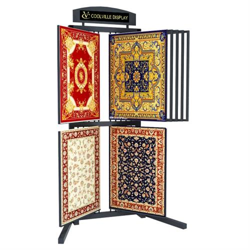 accent rug floor display rack,rug floor display,rug display rack