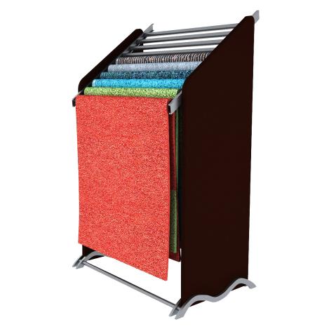 Metal Carpet Sample Display Rack