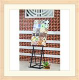 Metal Ceramic Display Racks