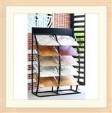 Metal Hardwood Floor Display Racks