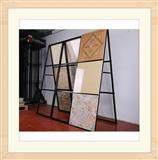 Metal Tile Board Display Racks