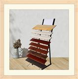 Steel Hardood Floor Display Rack