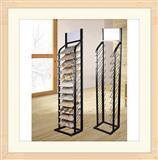 Steel Quartz-Stone Display Rack Stands