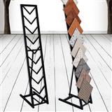 Metal Tile Stone Display Rack