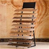 Hardwood Floor Waterfall Display Stand