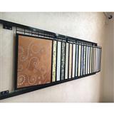 Metal Mosaic Display Stand Rack