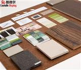 Ceramic Tile Mosaic Stone Floor Hardwood Sample Board For Exhibition