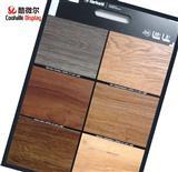 Customized Ceramic Tile Flooring Wood Display Sample Board