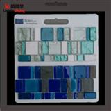 Mosaic Tile Wood Floor Sample Display Boards With Handle