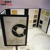 Custom Color Book Crushed Natural Stone and Resin Binders Ceramic Tile