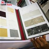 Wooden Flooring Sample Display Brochure China Granite Sample Binders